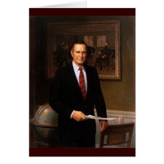 41 George H. W. Bush Greeting Card