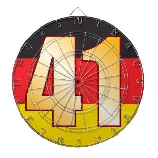 41 GERMANY Gold Dartboard