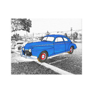 41 Oldsmobile Series 76 Stretched Canvas Print