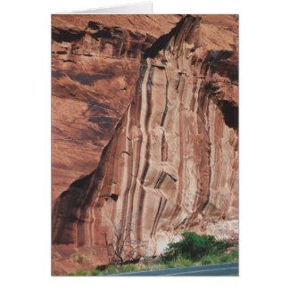41. Vertical Stripes, Rt. 95, Southern Utah Card