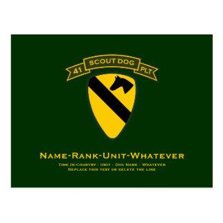 41st IPSD - 1st Cavalry Post Card