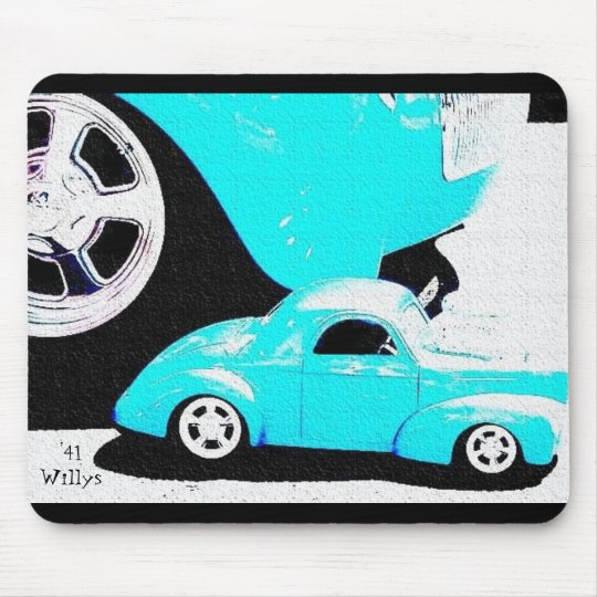 '41Willys Mouse Pad