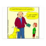 425 anti-gravity cartoon post cards