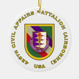 426th CA Bn - Abn Christmas Tree Ornaments