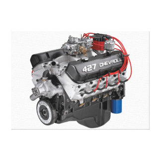 427 Chevy Big Block Engine Canvas Prints