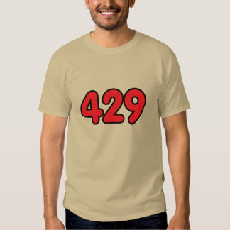 429 means GAY. T-shirts