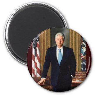 42 Bill Clinton 6 Cm Round Magnet