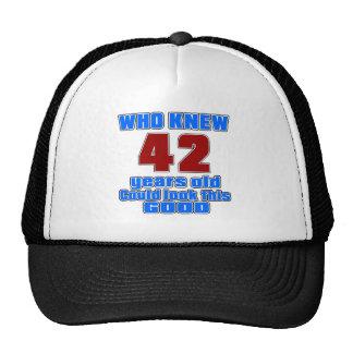 42 birthday designs cap