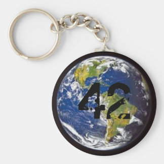 42 - Earth Key Ring