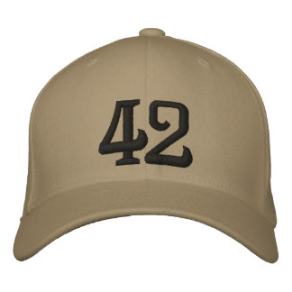 42 EMBROIDERED CAP