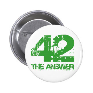 42 Is The Answer Button