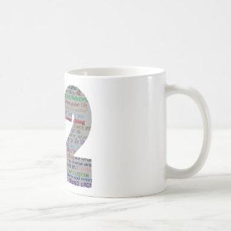 42: Life the Universe and Everything Coffee Mug