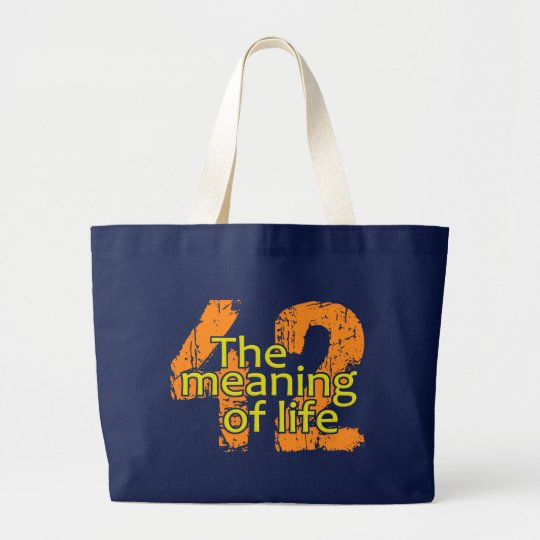 42 Meaning of Life bag - choose style
