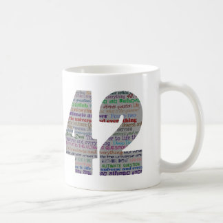 42: The ultimate answer Classic White Coffee Mug