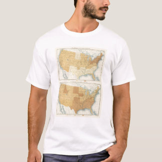 42 Wage earners, manufactures, agriculture T-Shirt