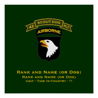 42d IPSD - 101st Airborne Poster