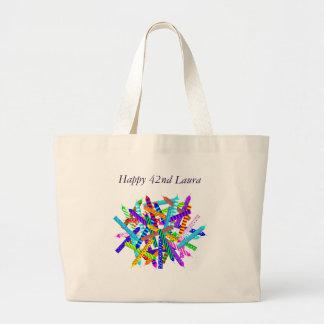 42nd Birthday Gifts Jumbo Tote Bag