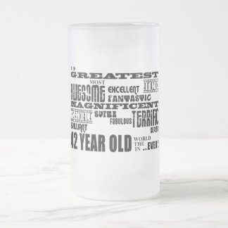 42nd Birthday Party Greatest Forty Two Year Old Coffee Mugs