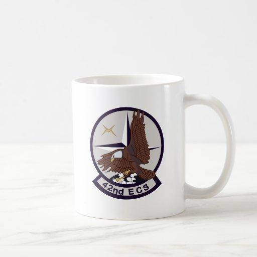 42nd ECS Basic White Mug