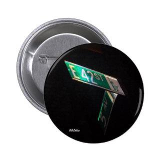 42nd Street 6 Cm Round Badge
