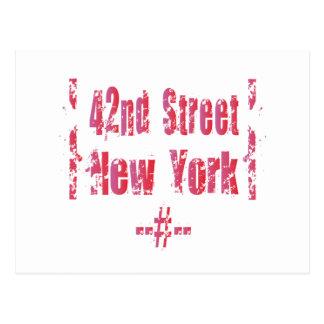 42nd street. postcard