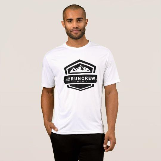 42RunCrew Mens Running Top - Big Logo
