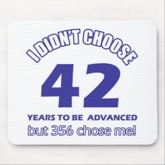 42years advancement mousepad