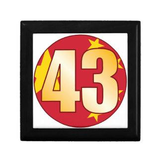 43 CHINA Gold Gift Box