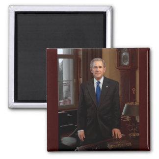 43 George W. Bush Square Magnet