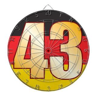 43 GERMANY Gold Dartboard