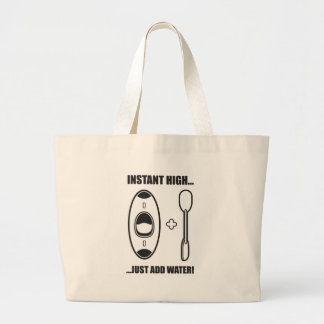 43. instant high large tote bag