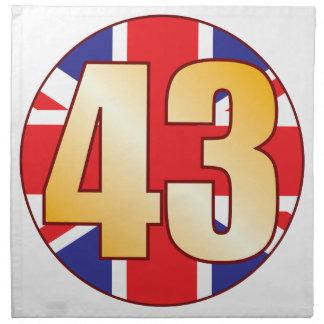 43 UK Gold Napkin