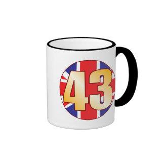 43 UK Gold Ringer Mug