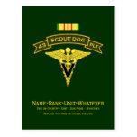 43d IPSD - Vet Svcs Postcards