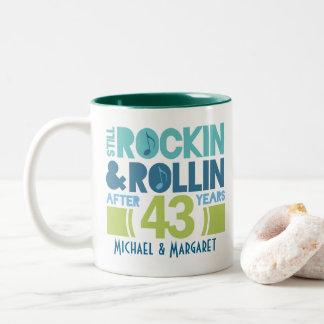 43rd Anniversary Personalized Mug Gift
