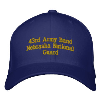 43rd Army Band Embroidered Hats