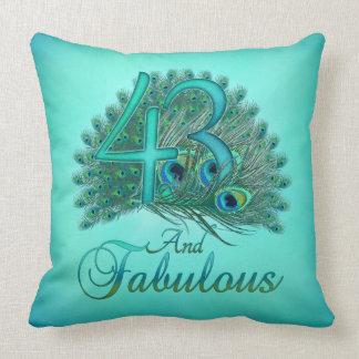 43rd Birthday Pillows