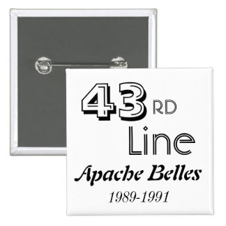 43rd Line Pinback Buttons