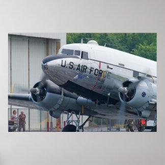 44-76716 C-47B Skytrain Yankee Doodle Dandy Print
