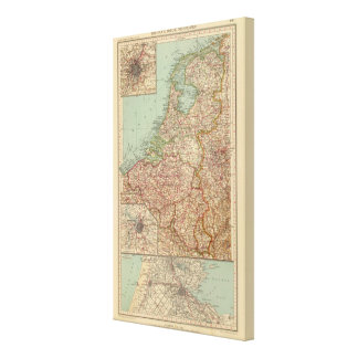 44 Belgium and Holland Canvas Print