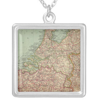 44 Belgium and Holland Silver Plated Necklace