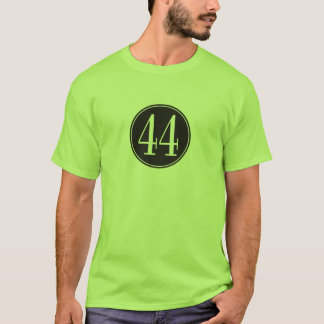 #44 Black Circle T-Shirt