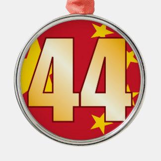 44 CHINA Gold Christmas Ornament