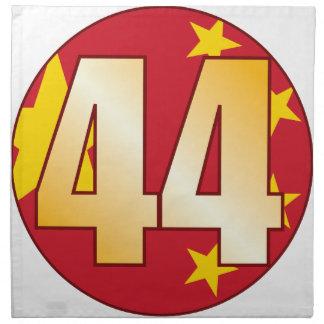 44 CHINA Gold Napkin
