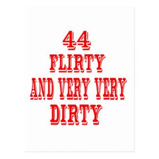 44, Flirty and very very Dirty Postcard