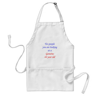 44  Genuine 44 Year Old Aprons