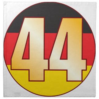 44 GERMANY Gold Napkin