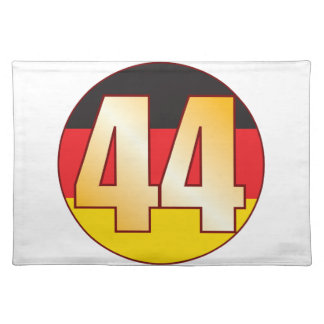 44 GERMANY Gold Placemat