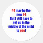 44 new 24 round sticker