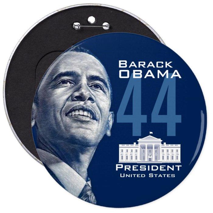 44 (Round) 6 Cm Round Badge